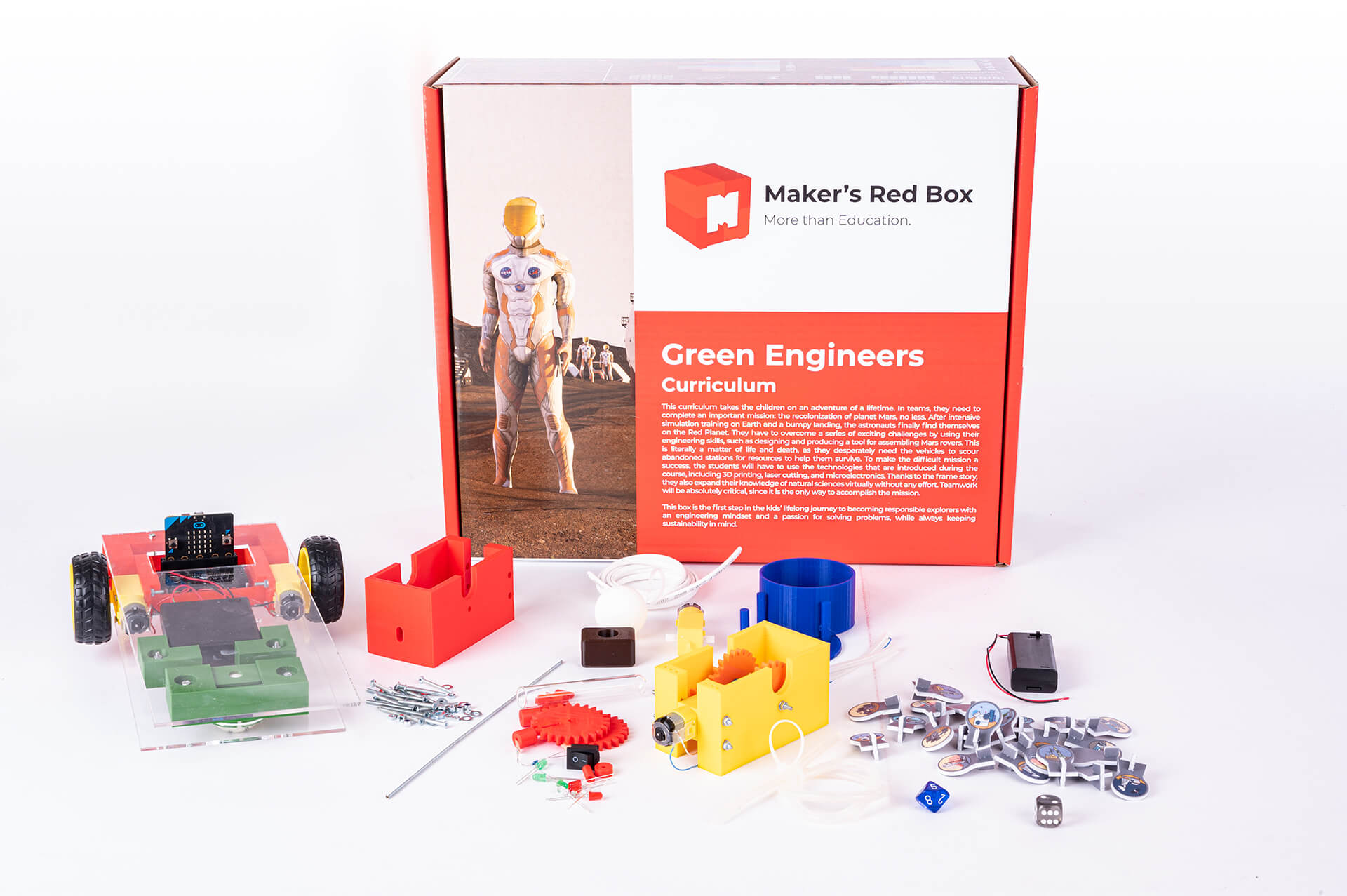Green Engineers Makers Red Box 2