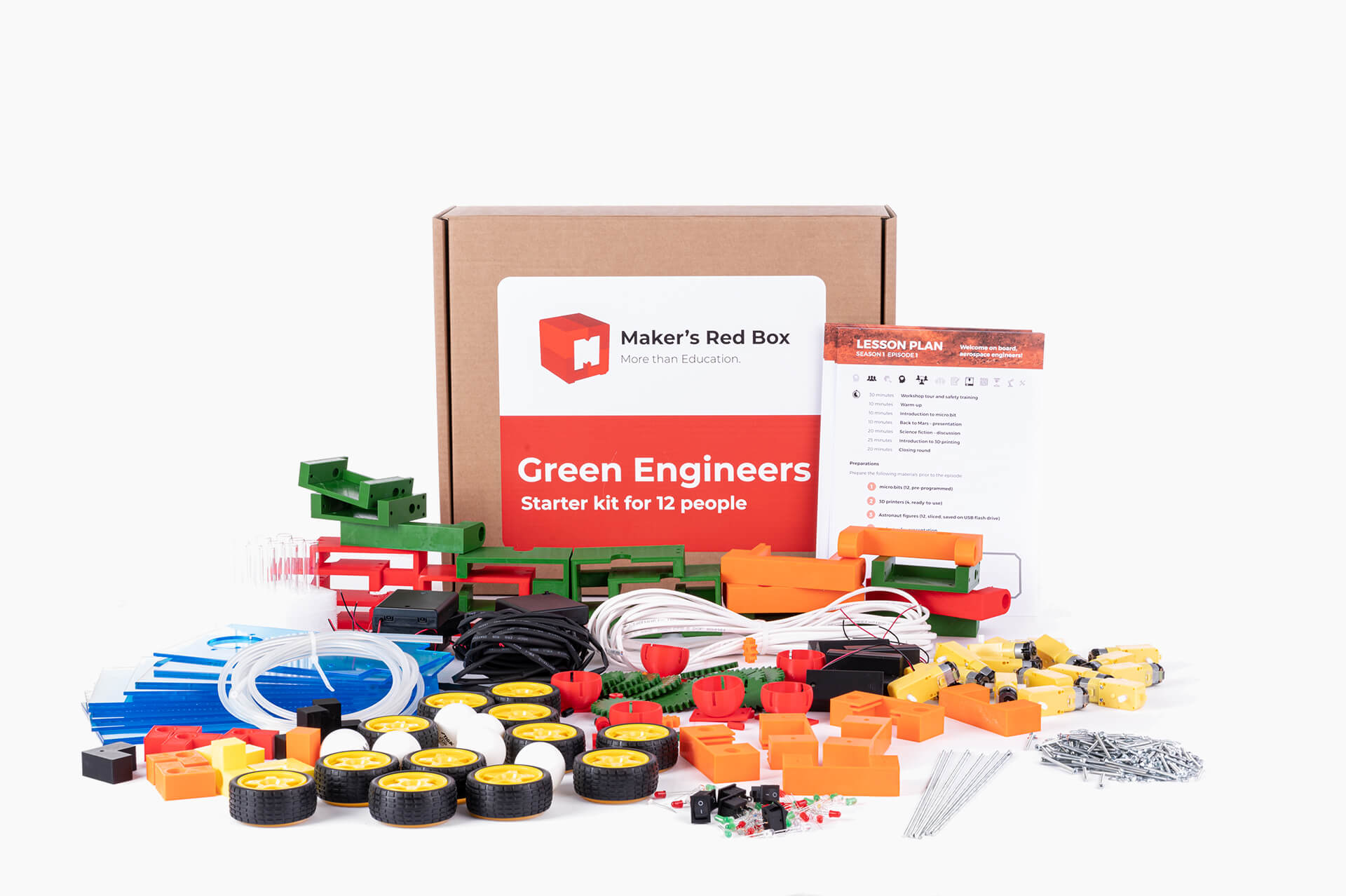 Green Engineers Makers Red Box 3