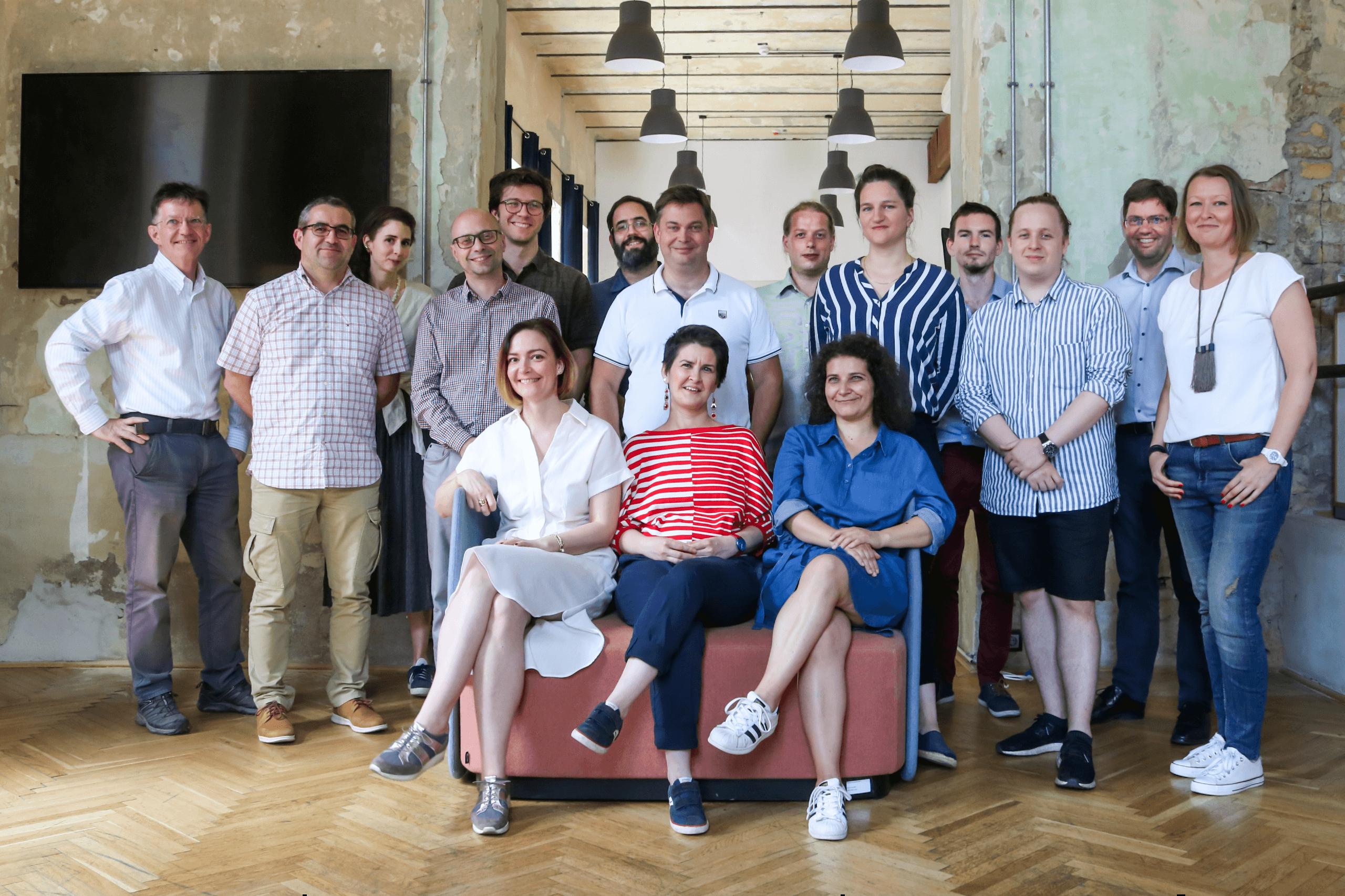 Maker's Red Box team