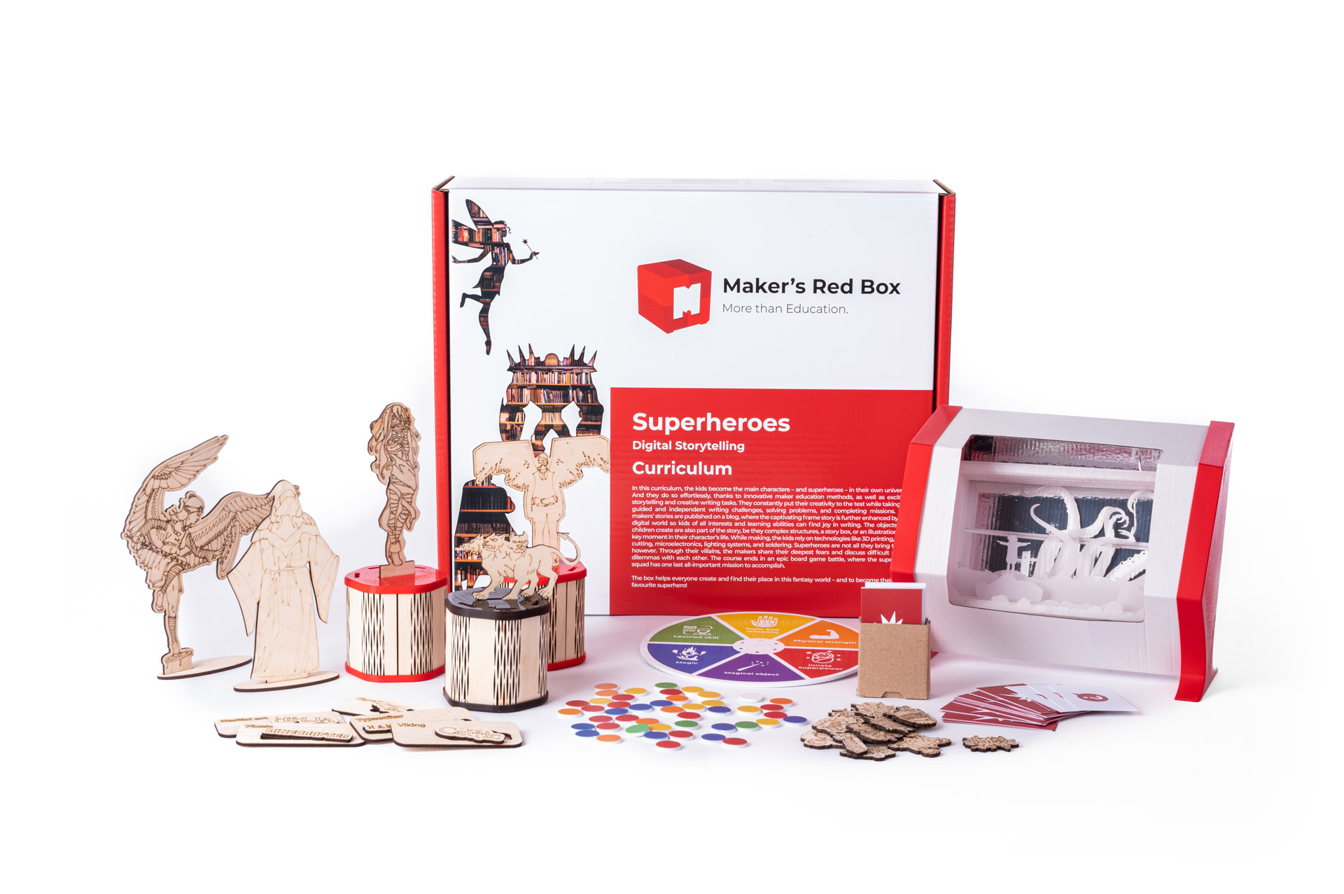 Makers Red Box Curriculum
